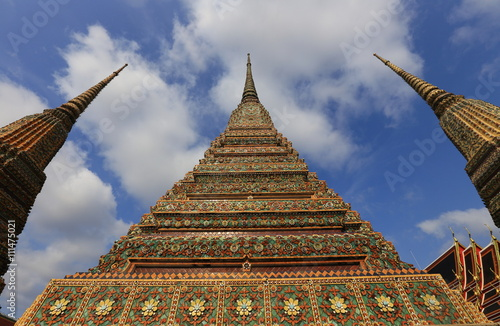 Temple of Reclining Buddha, Wat Pho, Bangkok, Thailand