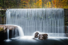 Waterfall, Les Gorges De L'Areuse, Switzerland