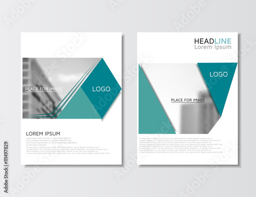Annual Report Brochure Empty Layout Flyer Template Leaflet Design Layout Brochure Design Business Concept Vector Illustration Eps 10 Buy This Stock Vector And Explore Similar Vectors At Adobe Stock Adobe Stock