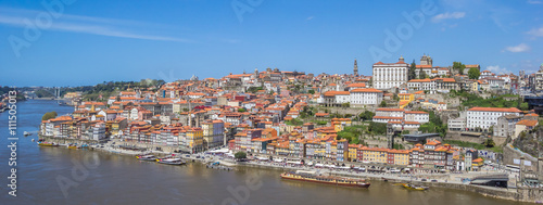 Poster Algérie Panoramic view over historical city Porto