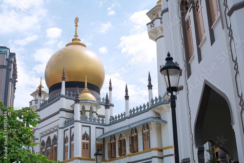 Photo  Masjid Sultan Mosque in Singapore