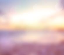 Summer Background  Blur.