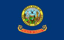 Flag Of Idaho, USA