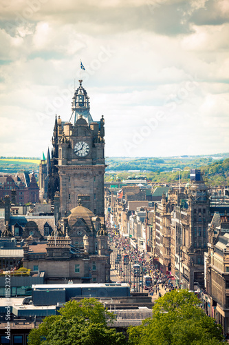 Edimburg - Scotland - Princes Street
