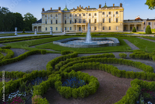 Fototapety, obrazy: Palace in Bialystok , the historic residence of Polish magnate.