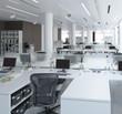 Einrichtung im Büro (Focus)