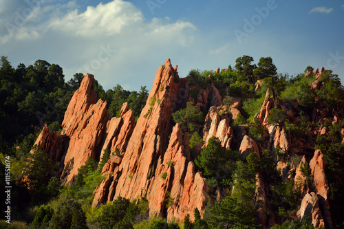 Fotografering  Garden of the Gods Colorado Springs