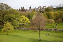 «Princes Street Gardens» Avec Les Couleurs Du Printemps à Edimbourg - Ecosse