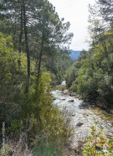 River Borosa Walking Trail in the Sierra Cazorla Mountain Range, Jaen Province, Andalusia, Spain - 111582406