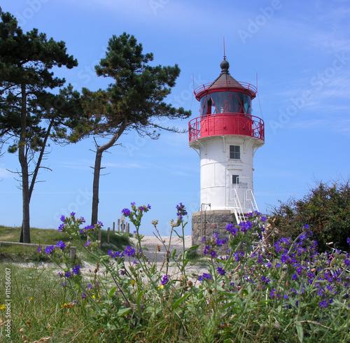 Foto op Aluminium Vuurtoren Leuchtturm Gellen