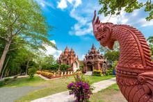 Wat Khao Phra Aungkhan In Buriram Province, Thailand