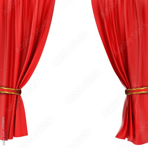 Fotografía  red curtain