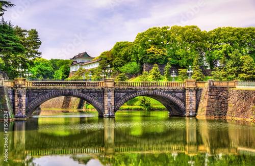 Imperial Palace with Nijubashi Bridge in Tokyo