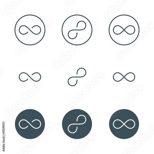 Fotografia  infinity symbol
