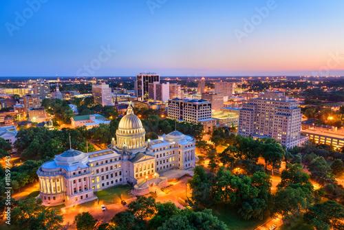 Jackson Mississippi Skyline #111597643