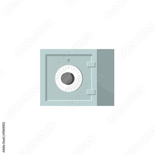 Safe Box Vector Icon Isolated On White Background Small Flat Bank Safe Closed With Code Lock Cartoon Illustration Buy This Stock Vector And Explore Similar Vectors At Adobe Stock Adobe Stock