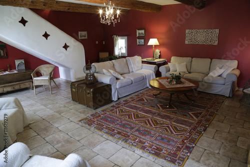 maison, intérieur sud - Buy this stock photo and explore similar ...