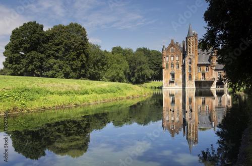 Wissekerke Castle Is A Moated Castle In The Village Bazel In The
