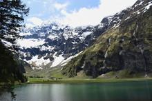 Hintersee, Felbertal, Nationalpark Hohe Tauern, Talschluss, Bergsee, Mittersill, Salzburg, Naturdenkmal