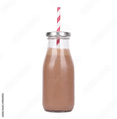 Foto op Aluminium Milkshake Chocolate milkshake