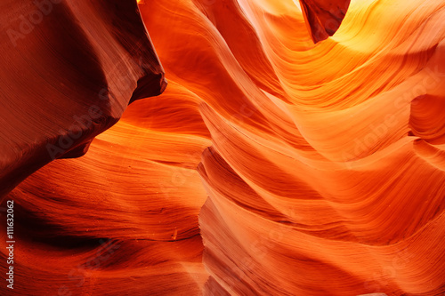 Fotobehang Natuur Park Lower Antelope Canyon in the Arizona, USA
