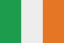 Ireland Official Flag, Vector ...