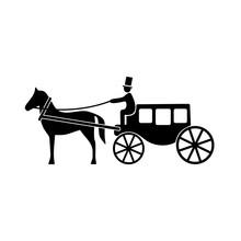 Horse Coach Icon