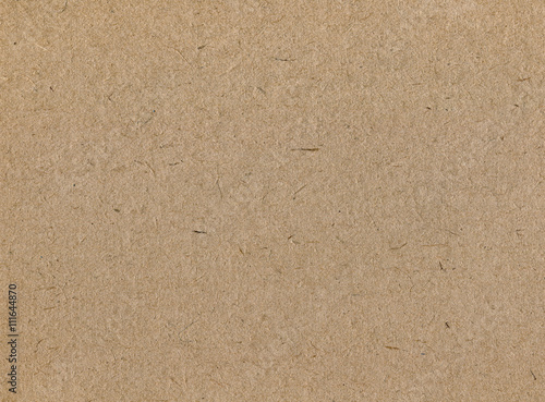 Fotografia, Obraz  Cardboard beige texture. Paper background for design.
