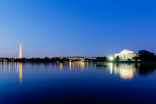 Jefferson Memorial And Washing...