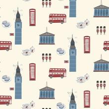 England Travel Concept