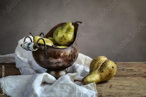 Fototapeta Still-Life with Pears obraz