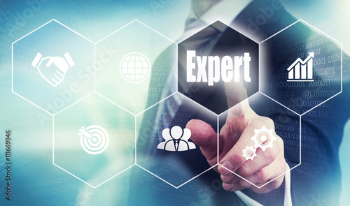 Business Expert Concept