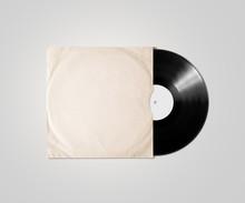 Blank Vinyl Album Cover Sleeve...