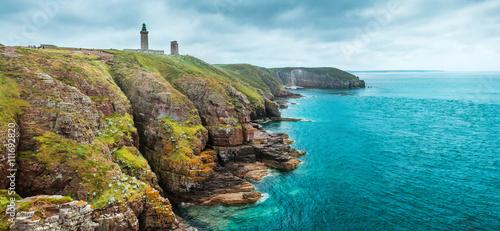 Fotografía coastal landscape Bretagne, France
