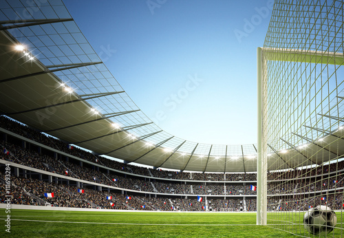 obraz PCV Stadion Torperspektive 2