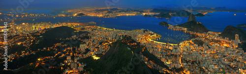 Rio de Janeiro Rio de Janeiro / Zuckerhut, Guanabara Bucht und Stadtzentrum