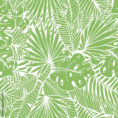 piekny-recznie-rysowane-tropikalny-wzor-zielone-tlo-powtarzane-z-liscmi-palmowymi