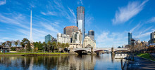 The Yarra River And Southbank ...
