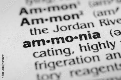 Photo Ammonia