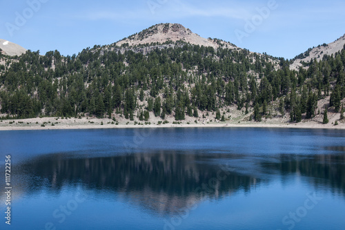Photo Stands Landscapes Mountain Lake in Lassen National Park