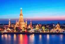 Wat Arun Night View Temple In ...