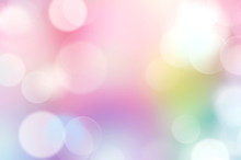 Rainbow Multi Colors Abstract ...