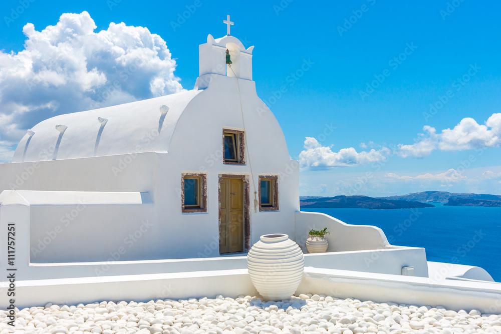 Fototapety, obrazy: Landscape Santorini Island, Oia, Cyclades, Greece