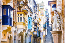 Typical Narrow Streets With Co...