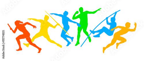 Fotografie, Obraz  Leichtathletik - 99