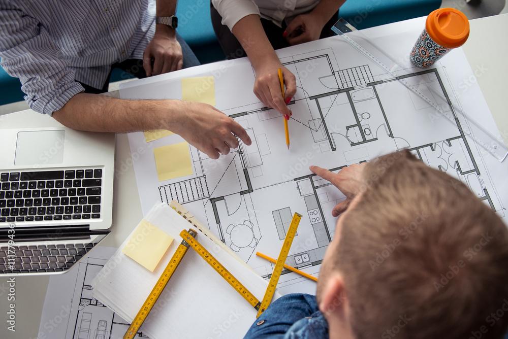 Fototapety, obrazy: Making business plans