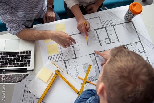 Making business plans Fototapet