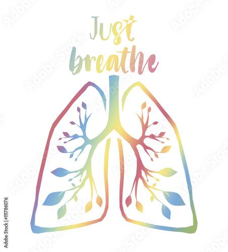 Fotografie, Obraz  Just Breathe
