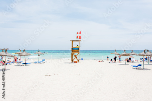 Photo View of a beach, overexposed and highlights style