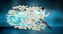 Financial Growth Dollar Trail